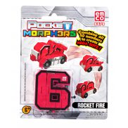 "Pocket Morphers - Figurka ""6"" Pojazd Rocket Fire 6879"