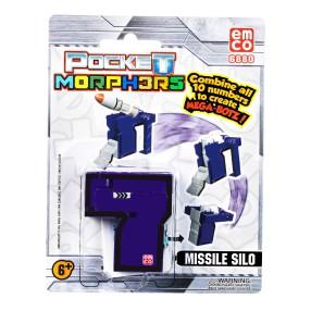 """Pocket Morphers - Figurka """"7"""" Pojazd Missile Silo 6880"""