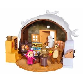 Simba Masza i Niedźwiedź - Zimowy Domek Niedźwiedzia Miszy 9301023