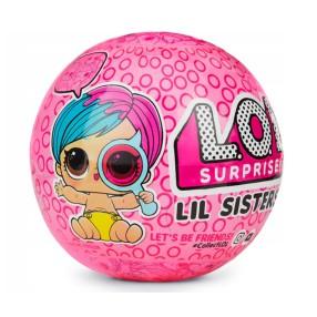 L.O.L. SURPRISE - Siostrzyczki Laleczka LOL w kuli niespodziance Seria 3.2 Eye Spy 552161