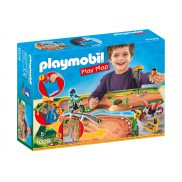 Playmobil - Play Map Motocross 9329