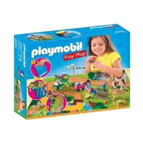 Playmobil - Play Map Wycieczka kucyków 9331