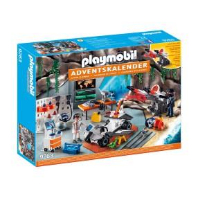 Playmobil - Kalendarz adwentowy Warsztat Spy Team 9263