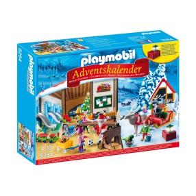 Playmobil - Kalendarz adwentowy Pracownia Świętego Mikołaja 9264