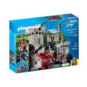 Playmobil - Brama zamkowa z olbrzymim Trollem 5670