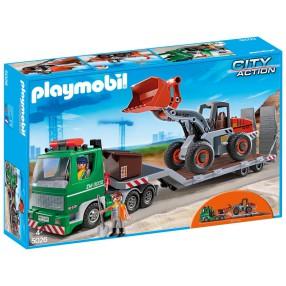 Playmobil - Przyczepa niskopodwoziowa 5026