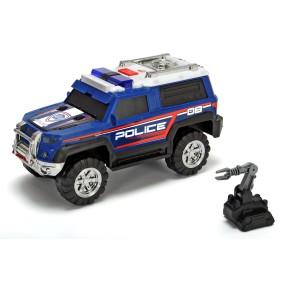 Dickie Action Series - Policja SUV Radiowóz granatowy 30 cm Światło Dźwięk 3306008