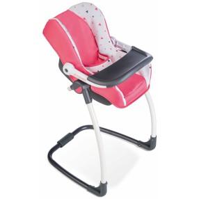 Smoby Maxi-Cosi Quinny - Krzesełko do karmienia, huśtawka, nosidełko 3w1 Model 2018 240230