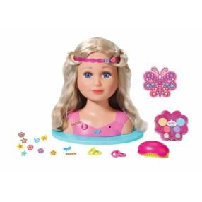 BABY born - Lalka Siostrzyczka - Głowa do stylizacji Różowa 824788
