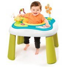 Smoby Cotoons - Elektroniczny stolik siedzonko 2w1 110224