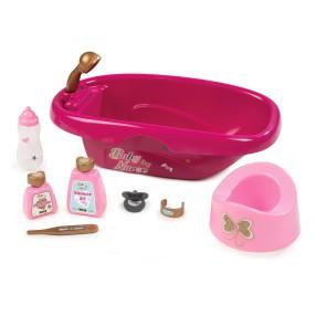 Smoby Baby Nurse - Wanienka do kąpieli z akcesoriami i nocnikiem 220330