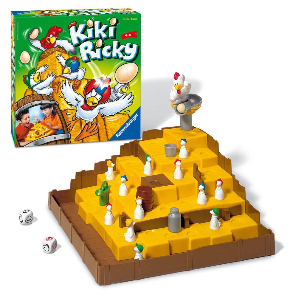 Ravensburger - Gra Kiki Ricky 210442