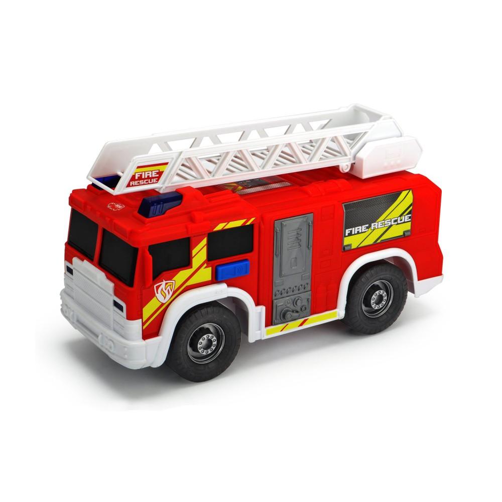 Dickie Action Series - Straż Pożarna czerwona z drabiną 30 cm Światło Dźwięk 3306000
