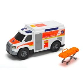 Dickie Action Series - Ambulans biały 30 cm Światło Dźwięk 3306002