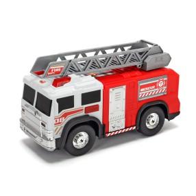 Dickie Action Series - Straż Pożarna biała z drabiną 30 cm Światło Dźwięk 3306005