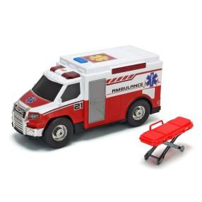 Dickie Action Series - Ambulans czerwony 30 cm Światło Dźwięk 3306007