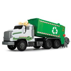 Dickie City - Wielki wóz recyklingowy Śmieciarka z dźwiękiem i światłem 55 cm 3749009
