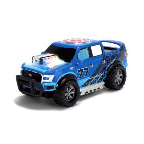 Dickie Racing - Jeżdżący muzyczny samochód terenowy Ford F150 Pick Up ze światłem i dźwiękiem 3764004