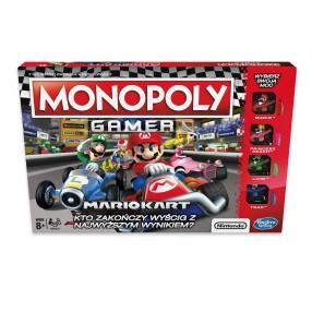 Hasbro - Gra Monopoly Gamer Mario Kart E1870