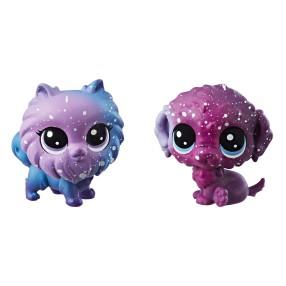 Littlest Pet Shop - Kosmiczne zwierzaki 2-Pak Pieski E2577