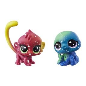 Littlest Pet Shop - Kosmiczne zwierzaki 2-Pak Dzikie zwierzątka E2578