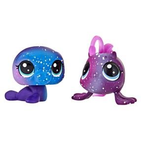 Littlest Pet Shop - Kosmiczne zwierzaki 2-Pak Wodne zwierzątka E2580
