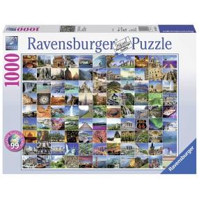 Ravensburger - Puzzle 99 Pięknych Miejsc na Ziemi 193714