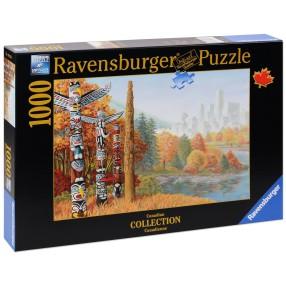 Ravensburger - Puzzle Dwa Światy 196258
