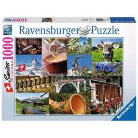 Ravensburger - Puzzle Szwajcarskie klimaty 195176
