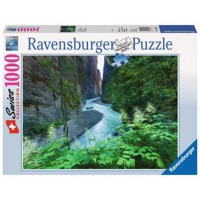 Ravensburger - Puzzle Aareschlut w Szwajcarii 193547