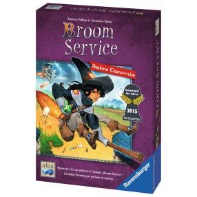 Ravensburger - Gra Broom Service Szalone Czarownice 822836
