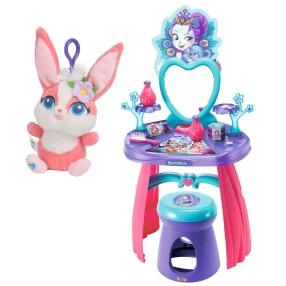 Smoby Enchantimals - Toaletka z lustrem dla dziewczynki 2w1 320229