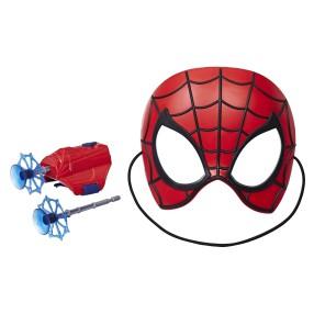 Hasbro Spider-Man Movie - Zestaw bohatera Maska + wyrzutnia Spiderman E2895