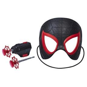 Hasbro Spider-Man Movie - Zestaw bohatera Maska + wyrzutnia Miles Morales E2896