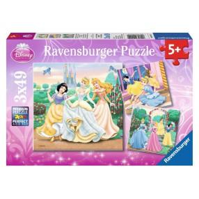 Ravensburger - Księżniczki 3x49 094110