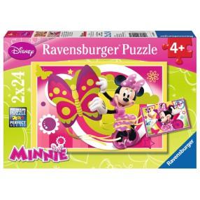 Ravensburger - Dzień z Myszką Minnie 2x24 090471