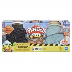 Play-Doh Wheels - Ciastolina Tuby budowlane Asfalt i Cement E4525