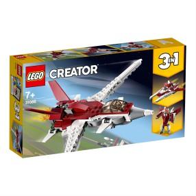 LEGO Creator - Futurystyczny samolot 3w1 31086
