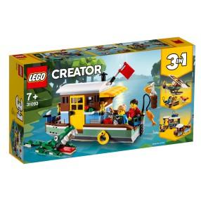 LEGO Creator - Łódź mieszkalna 3w1 31093