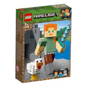 LEGO Minecraft BigFig - Alex z kurczakiem 21149