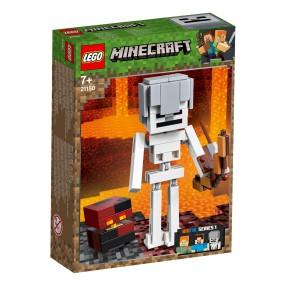 LEGO Minecraft BigFig - szkielet z kostką magmy 21150