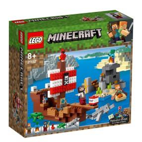 LEGO Minecraft - Przygoda na statku pirackim 21152