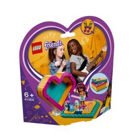 LEGO Friends - Pudełko w kształcie serca Andrei 41354