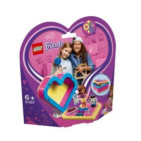 LEGO Friends - Pudełko w kształcie serca Olivii 41357
