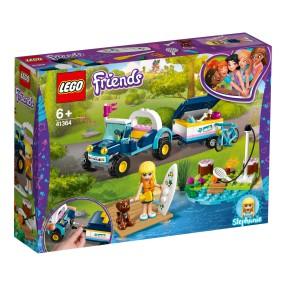 LEGO Friends - Łazik z przyczepką Stephanie 41364