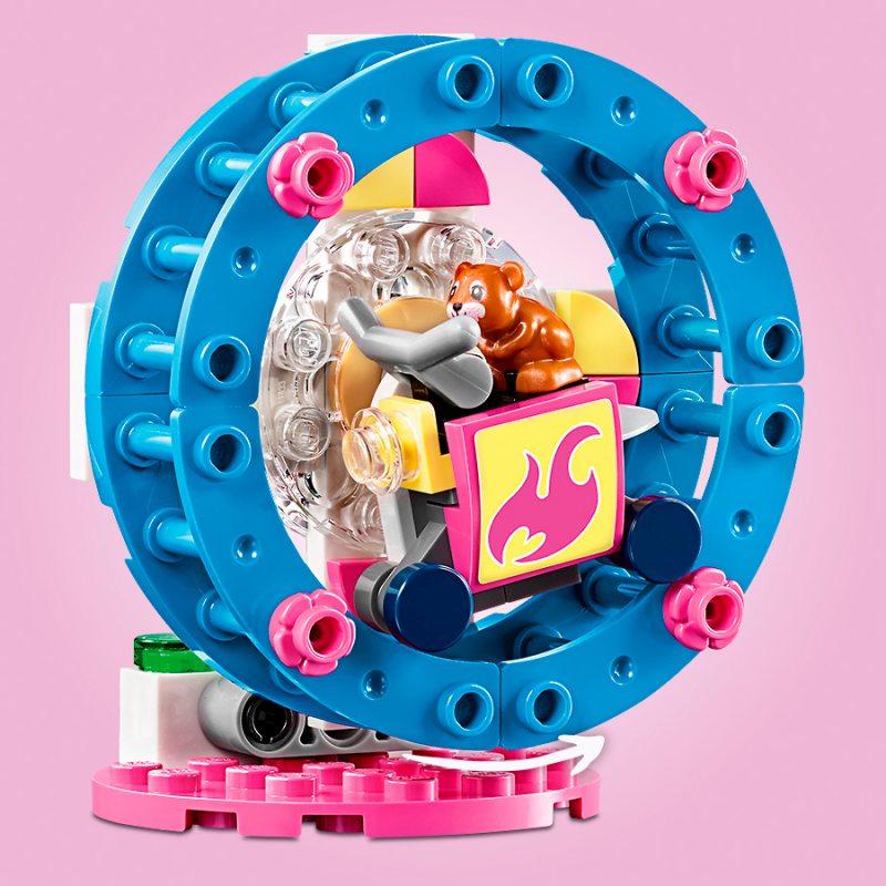 Nowość LEGO Friends - Plac zabaw dla chomików Olivii 41383 LJ22