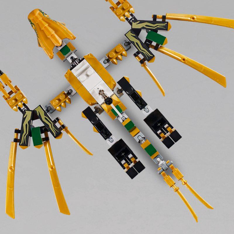 Lego Ninjago Złoty Smok 70666