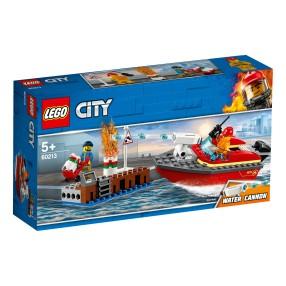 LEGO City - Pożar w dokach 60213