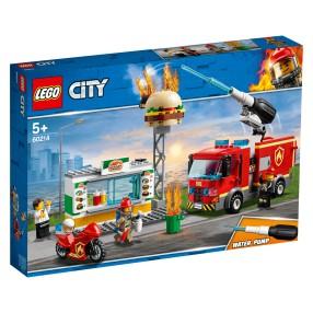 LEGO City - Na ratunek w płonącym barze 60214