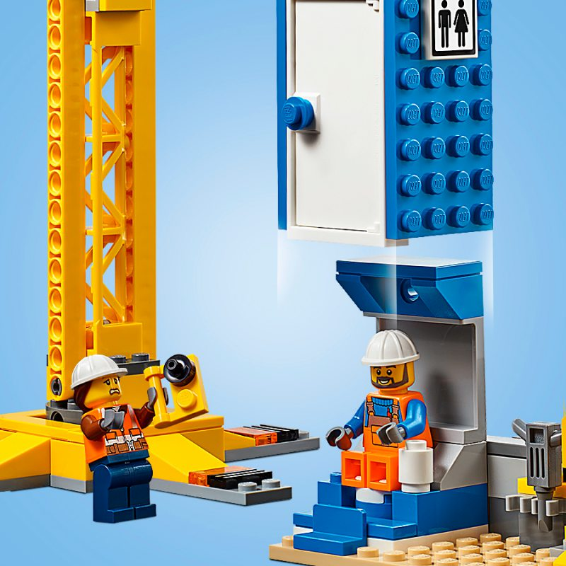 Lego City Straż Pożarna W śródmieściu 60216